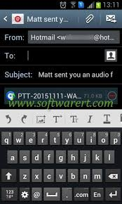 on android save whatsapp audio voice messages and recordings on android