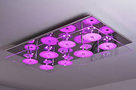 colour changing led ceiling lights led ceiling light with colour change and remote control amazon co