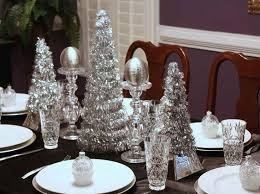 red and silver christmas table settings silver and white christmas table decorations my web value