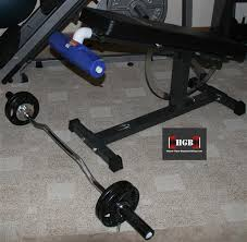 Iron Master Super Bench Homemade Spider Curl Bench Use Pvc Fittings And An Ironmaster