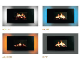 celsi puraflame curved lcd wall mounted electric fire fireplace