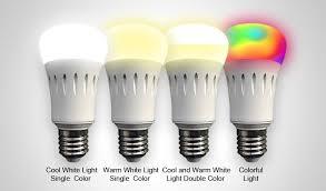heelight e27 6w smart app voice control led bulb warm white light