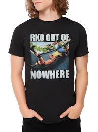 randy orton halloween costume wwe randy orton rko out of nowhere t shirt topic