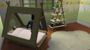 4 Bed Frame Toddler Bed Sims 4 Cc Toddler Bed Pictures