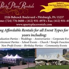 pittsburgh party rentals mihm a party place rentals party equipment rentals 2326