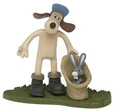 mcfarlane toys wallace gromit action figure gromit bunny