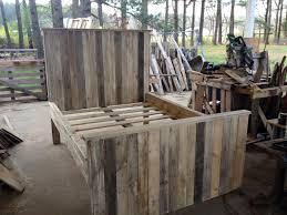 Wood Pallet Headboard Rustic King Size Pallet Headboard