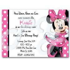 mouse personalized invitations