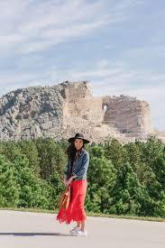 South Dakota Travel Dresses images Visiting sculptures mount rushmore crazy horse diana elizabeth jpg