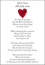 wedding gift list poems wedding gift list verses imbusy for
