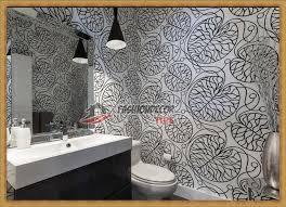 Modern Bathroom Wallpaper Designs Ideas  Fashion Decor Tips - Designer bathroom wallpaper