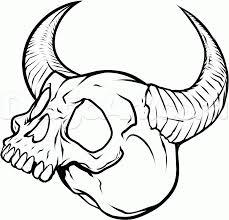 draw skull tattoos skull tattoos step by step drawing sheets