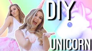 diy unicorn halloween costume youtube