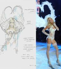 172 best victoria secret fashion sketches images on pinterest