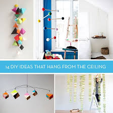 picture hanging ideas let s hang out 14 diy ideas that hang from ceiling curbly