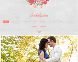 Shabby Chic Website Templates by Wedding Website Templates Free Templates For Your Wedding Site