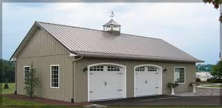 Metal Siding For Barns Pole Barns Metal Buildings Garage Construction Battle Creek