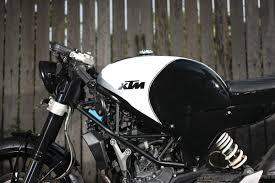 the duke of jakarta studio motor ktm cafe racer return of the
