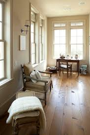 vinyl wood plank flooring home office rustic with baseboards beams