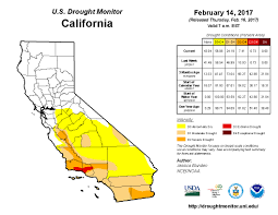 california drought map january 2016 california drought conditions improve more storms lining up