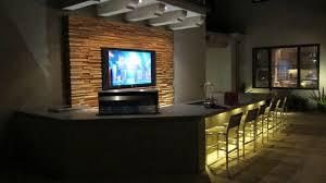 modern basement bar new at media room design ideas decobizz 117348