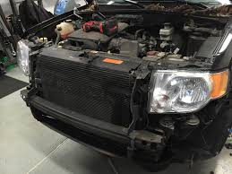 2008 2012 ford escape transmission fluid leak a c condenser