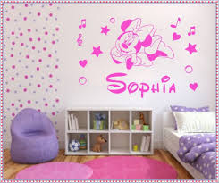 Modern Home Decoration by Makeovers And Decoration For Modern Homes Minnie Mouse Wall