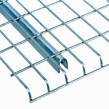 wire decking pallet rack wire deck with front and rear waterfall