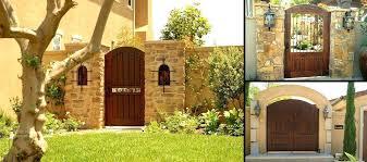 Backyard Gate Ideas with Wooden Backyard Gates U2013 Smartonlinewebsites Com