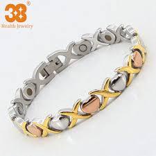 magnetic gold bracelet images Handmade rose gold bracelet womens summer jewelry magnetic heart jpg