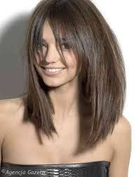 medium length hairstyles front and back with bangs long bob hairstyles front and back medium haircuts fringe