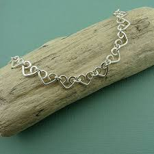 heart chain link bracelet images 552 best diy wire jewelry images wire jewelry jpg