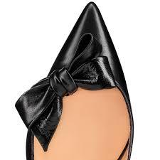 yasling 70 black leather women shoes christian louboutin