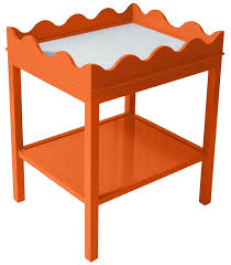 side table orange side tables furniture chair table with