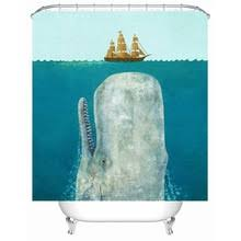 Whale Bathroom Accessories by Popular Whale Shower Curtain Buy Cheap Whale Shower Curtain Lots