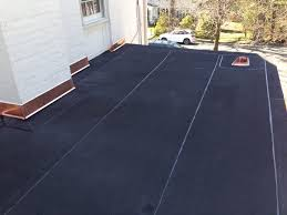 new york roofer contractor new flat roof with copper flashing