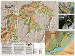 map of oregon state parks maps cottonwood state park