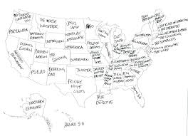 map of united states countries and capitals us state map quiz also us state map quiz printout us map quiz