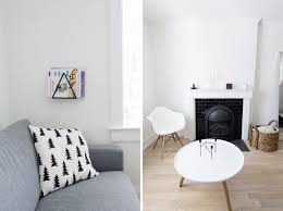 scandinavian living house tour living room happy grey lucky