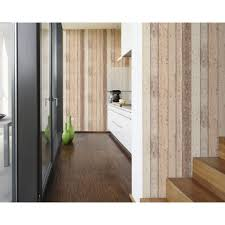 as creation painted wood beam faux effect textured wallpaper 895110