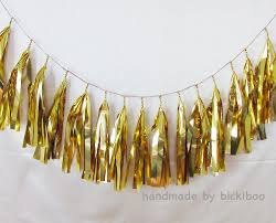 gold foil tissue paper tissue paper tassel garland gold foil bickiboo party supplies