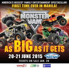 monster trucks video clips monster jam manila 2015 manila concert scene