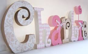 Letter Decorations For Nursery Decorative Letters For Baby Nursery Nursery Decorating Ideas