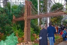 Train Show Botanical Garden by Nyc Nyc New York Botanical Garden U0027s Holiday Train Show Model