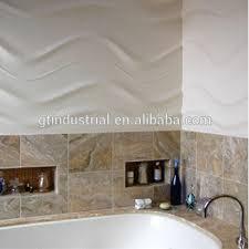Plastic Wall Panels For Bathrooms by Waterproof Bathroom Plastic Wall Siding Panel 3d Shower Pvc Wall
