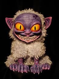meow evil cat design fluffy monster creature character design