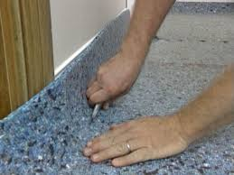 Carpeting Over Laminate Flooring How To Install Wall To Wall Carpet Yourself How Tos Diy