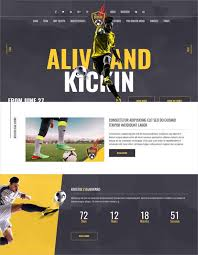 free template for website with login page 30 soccer club website themes templates free premium templates soccer and football club html website template 19