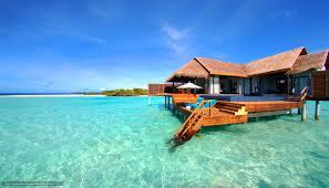 download wallpaper maldives tropics bungalow beach free desktop