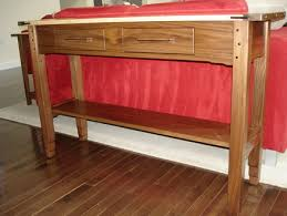 Walnut Sofa Table by Walnut U0026 Birdseye Maple Sofa Table By Casper Lumberjocks Com